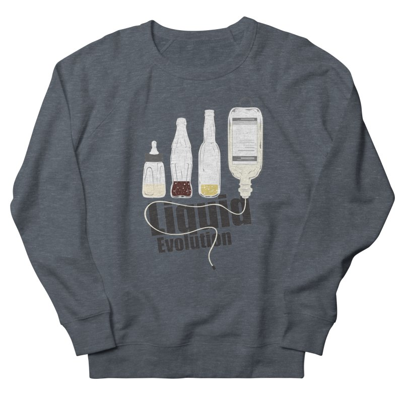Liquid Evolution Men's Sweatshirt by nirmata's Shop