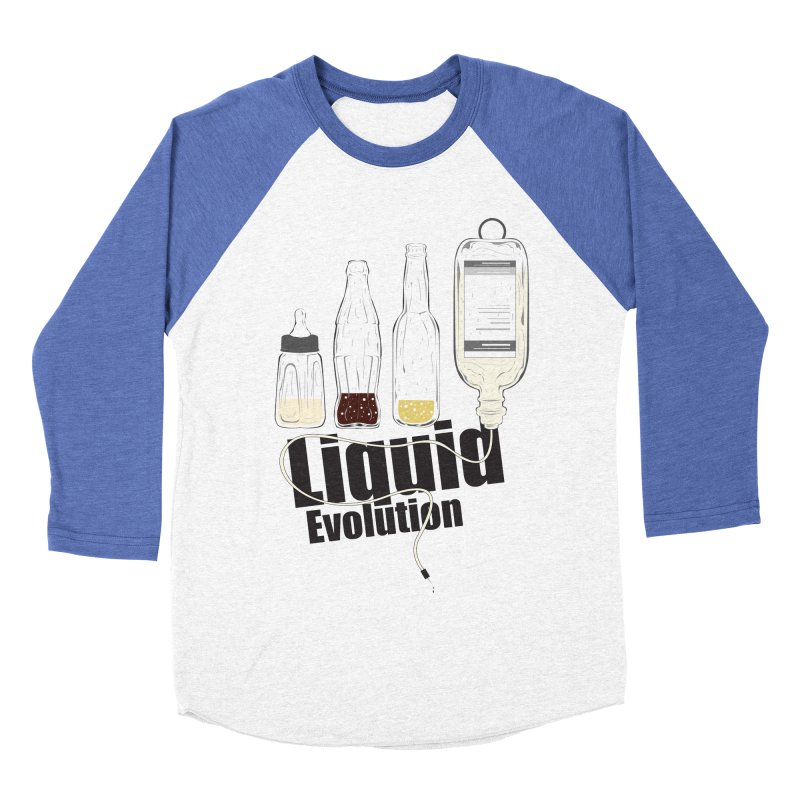 Liquid Evolution Women's Baseball Triblend T-Shirt by nirmata's Shop