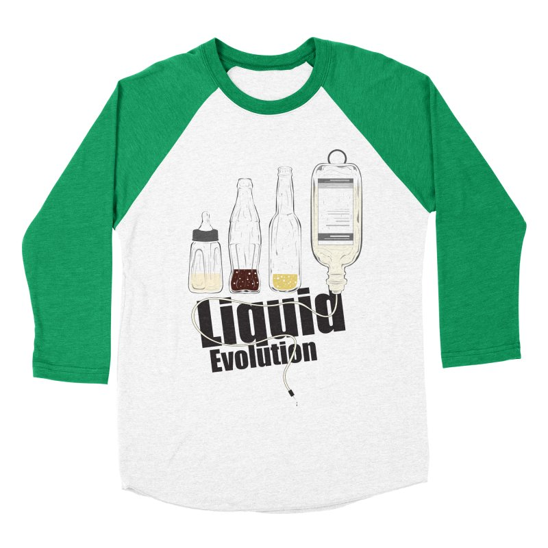 Liquid Evolution Men's Baseball Triblend T-Shirt by nirmata's Shop