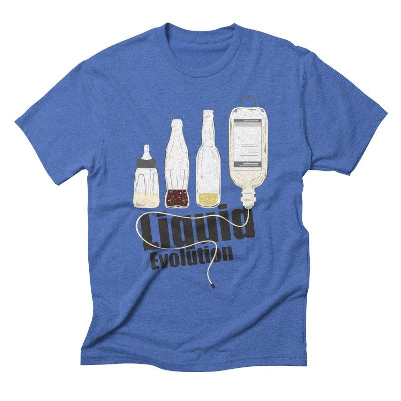 Liquid Evolution Men's Triblend T-shirt by nirmata's Shop