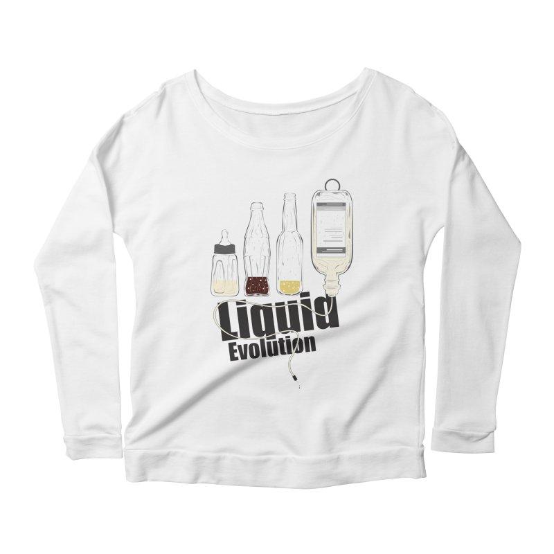 Liquid Evolution Women's Longsleeve Scoopneck  by nirmata's Shop