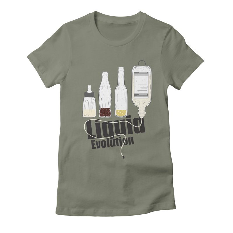 Liquid Evolution Women's Fitted T-Shirt by nirmata's Shop