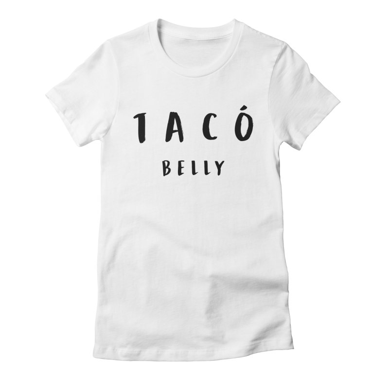 Designer Taco Women's Fitted T-Shirt by Fueled By Insomnia