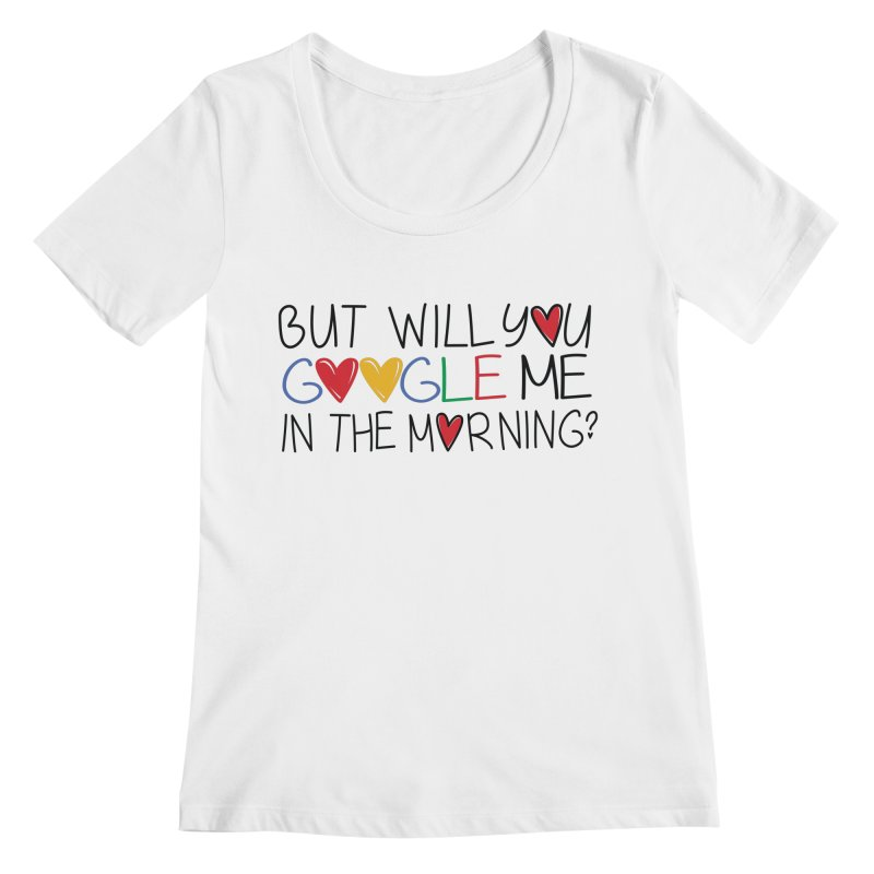 Modern Day Romance Women's Scoopneck by Fueled By Insomnia
