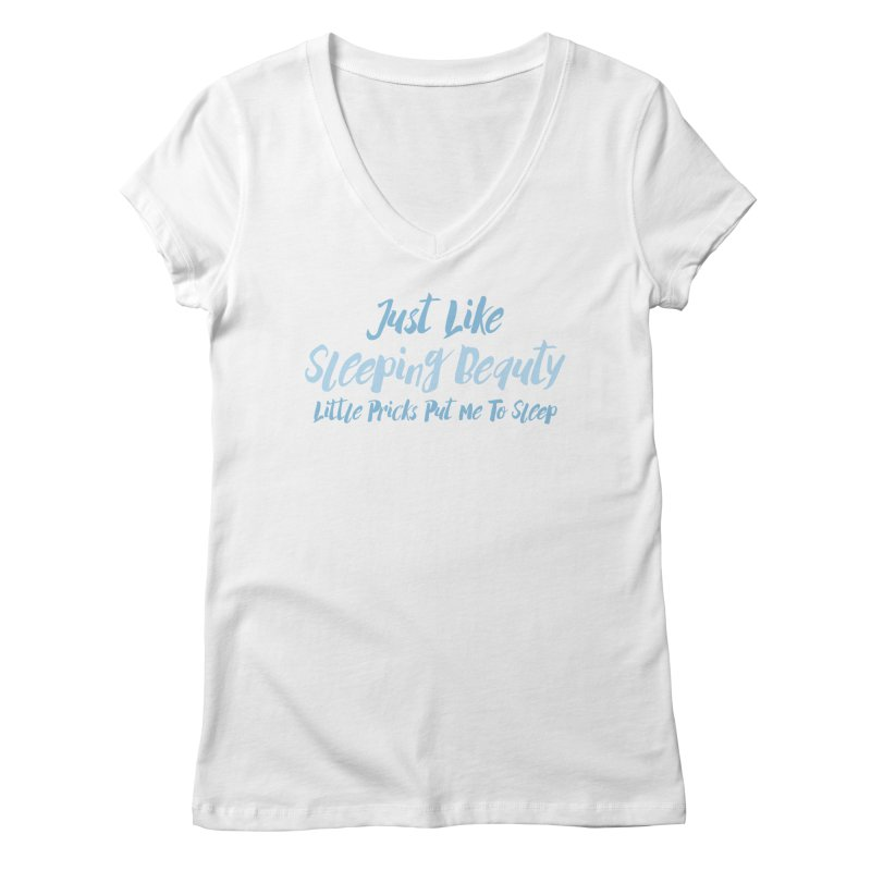 I'm A Princess Women's V-Neck by Fueled By Insomnia