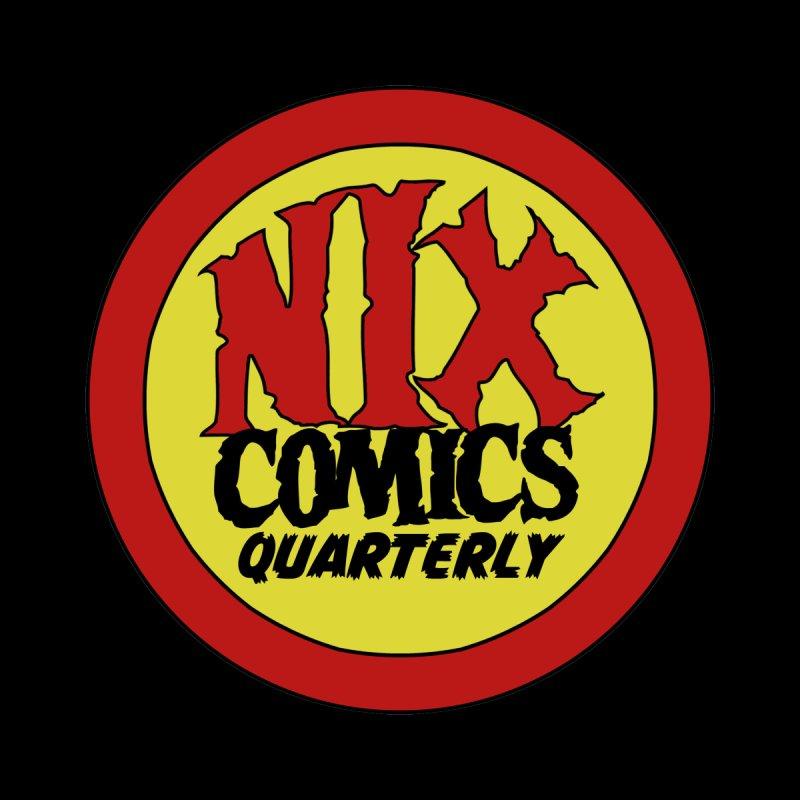 Nix Comics Quarterly Alternative Logo by Rachel Autumn Deering by Nix Comics Swag Shop
