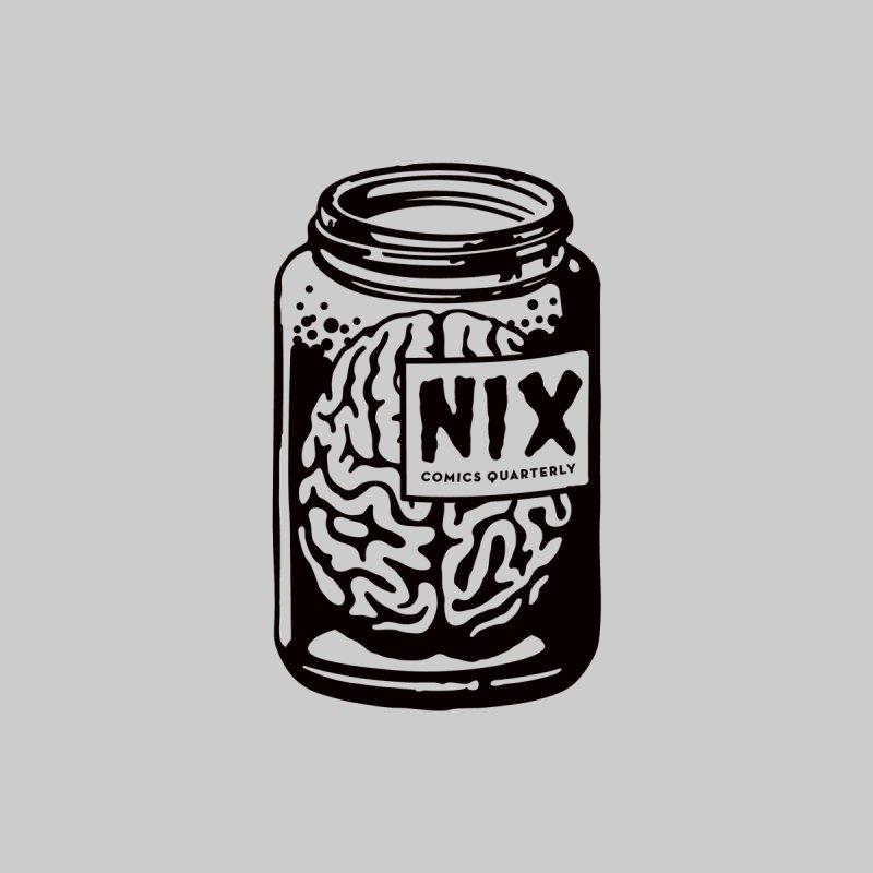 Brain In Jar by Ryan Brinkerhoff by Nix Comics Swag Shop