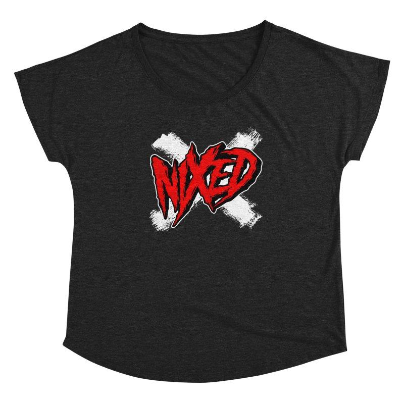 Nixed Women's Scoop Neck by NIXED Merch