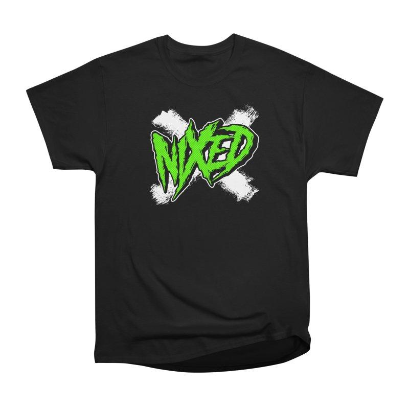 NIXED logo green Women's T-Shirt by NIXED Merch