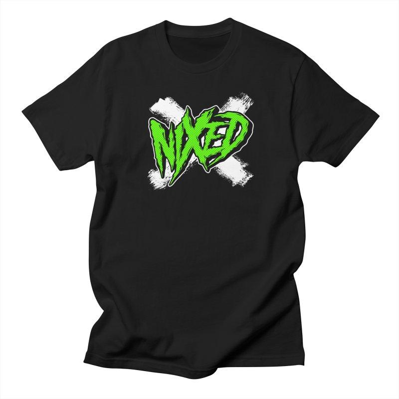 NIXED logo green Men's T-Shirt by NIXED Merch