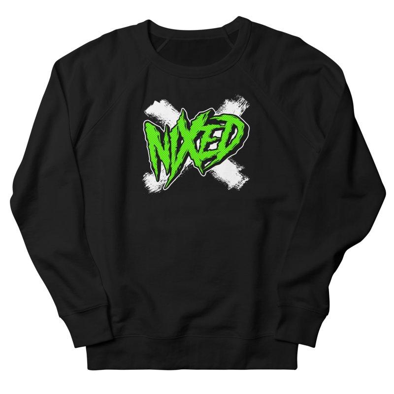 NIXED logo green Women's Sweatshirt by NIXED Merch