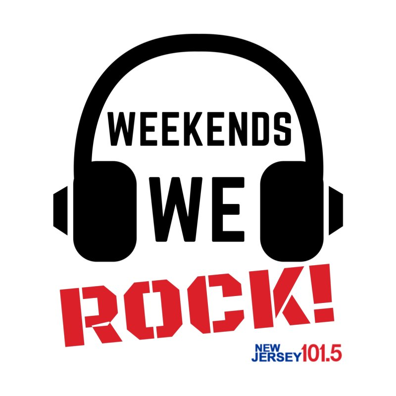 NJ101.5 Weekend Rock Men's Zip-Up Hoody by NJ101.5's Artist Shop