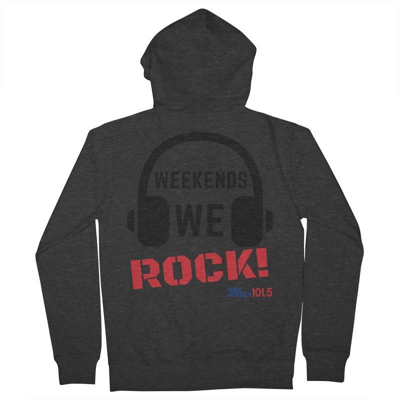 NJ101.5 Weekend Rock Men's Zip-Up Hoody by NJ101.5's Artist Shop