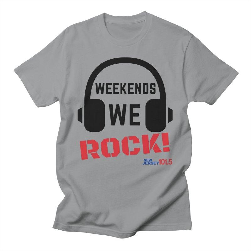 NJ101.5 Weekend Rock Men's T-Shirt by NJ101.5's Artist Shop