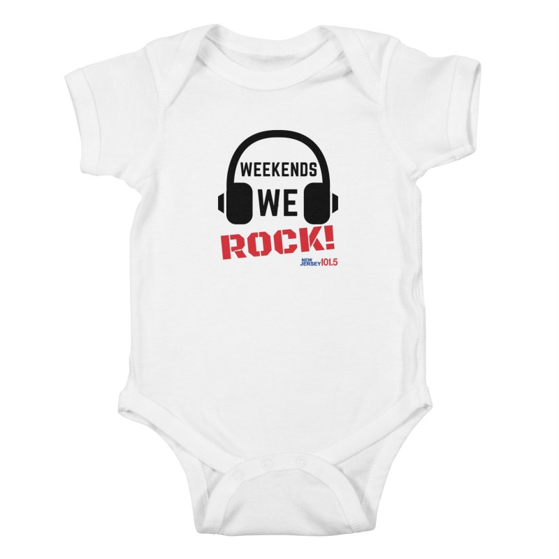 NJ101.5 Weekend Rock Kids Baby Bodysuit by NJ101.5's Artist Shop
