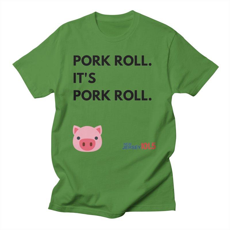Pork Roll Men's T-Shirt by NJ101.5's Artist Shop