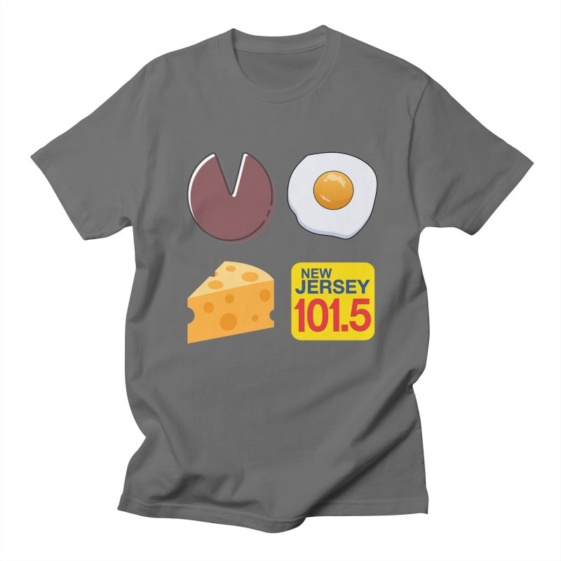 Porkroll & Egg & Cheese Men's T-Shirt by NJ101.5's Artist Shop