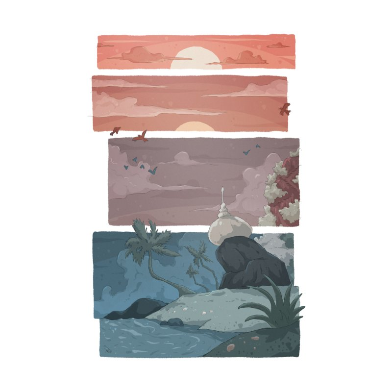 Dawn of Hope Home Tapestry by NK Artbox