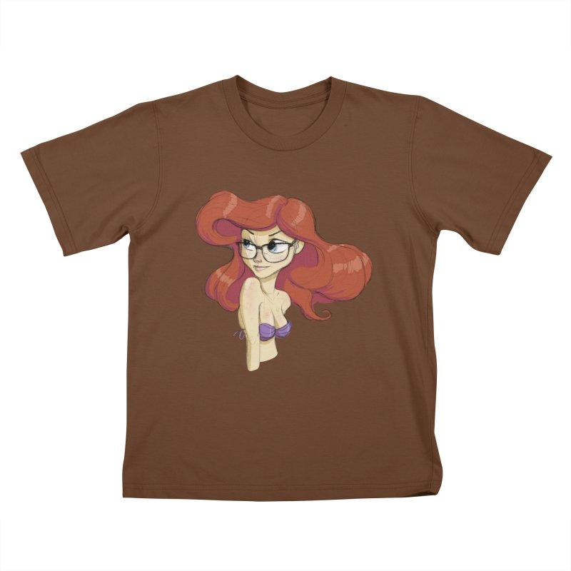 Hipster Mermaid Kids T-shirt by noaheisenman's Shop
