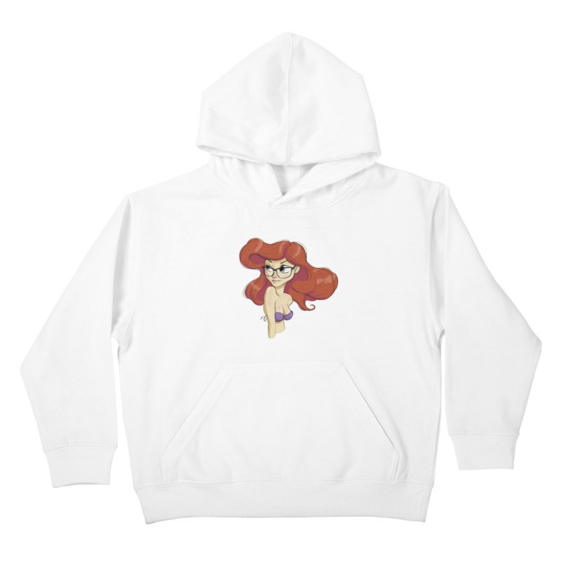 Hipster Mermaid Kids Pullover Hoody by noaheisenman's Shop