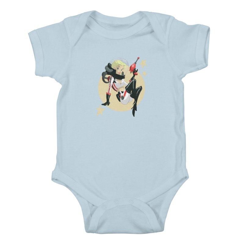 Nuka Girl Kids Baby Bodysuit by noaheisenman's Shop