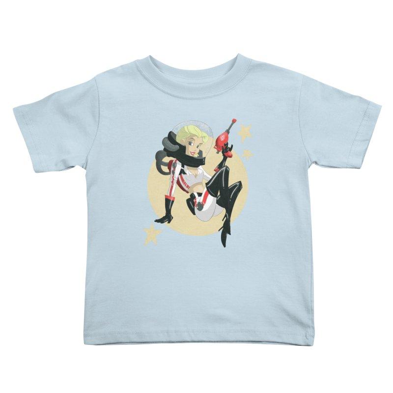 Nuka Girl Kids Toddler T-Shirt by noaheisenman's Shop