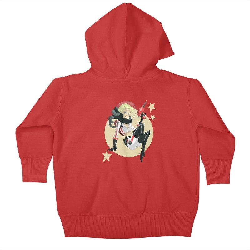 Nuka Girl Kids Baby Zip-Up Hoody by noaheisenman's Shop