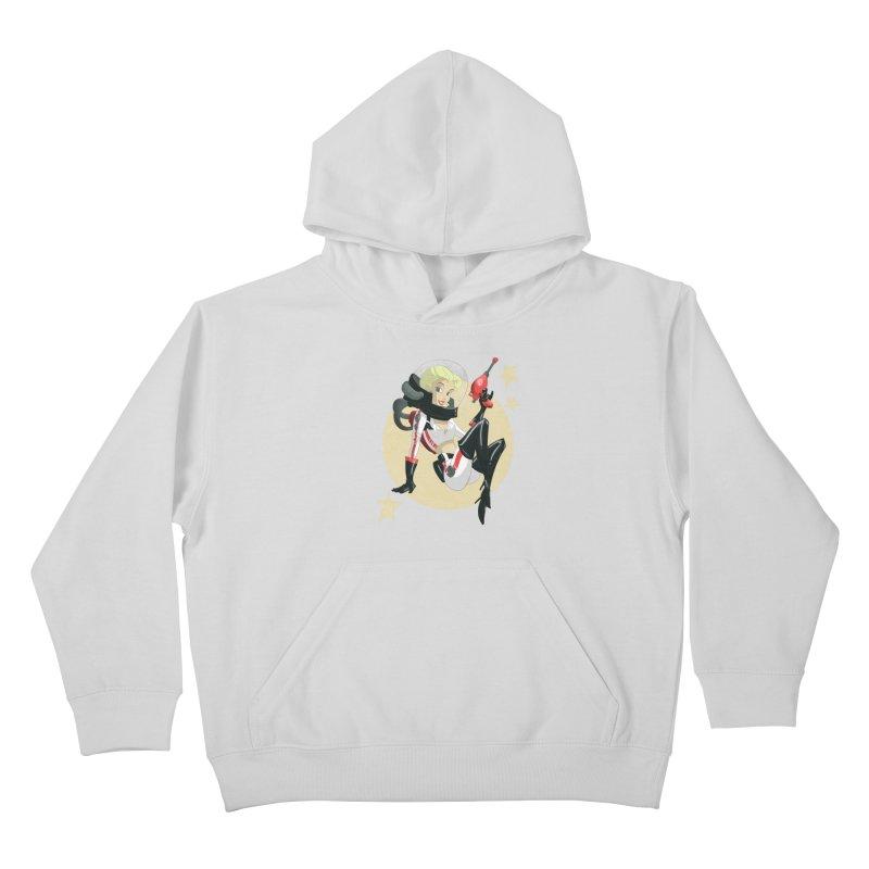 Nuka Girl Kids Pullover Hoody by noaheisenman's Shop