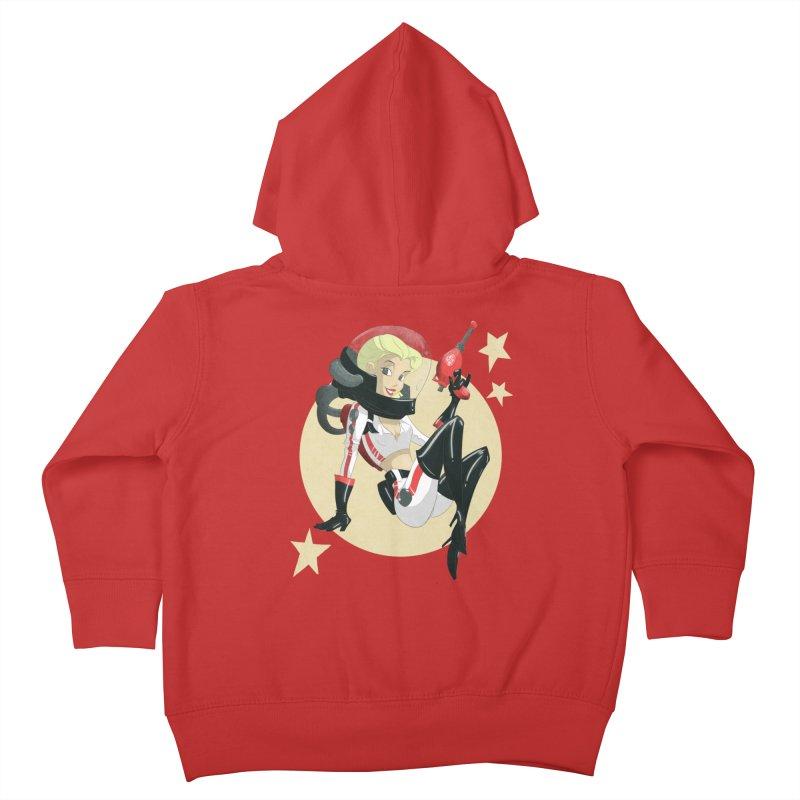 Nuka Girl Kids Toddler Zip-Up Hoody by noaheisenman's Shop