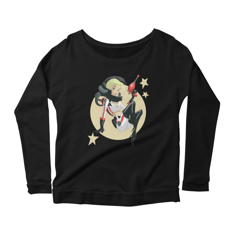Nuka Girl Women's Longsleeve Scoopneck  by noaheisenman's Shop
