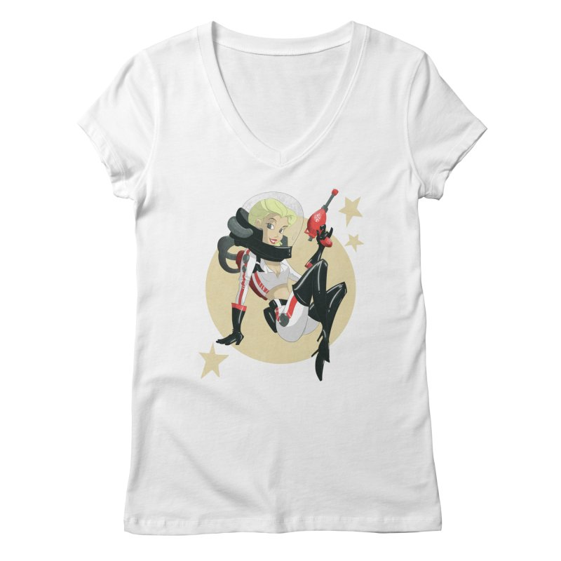 Nuka Girl Women's V-Neck by noaheisenman's Shop