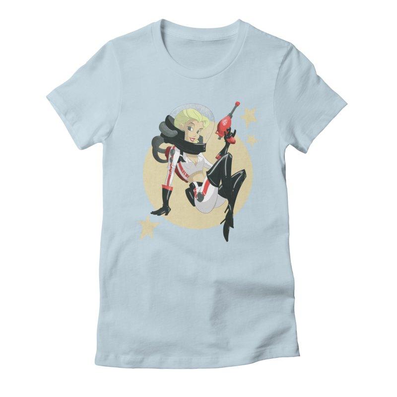 Nuka Girl Women's Fitted T-Shirt by noaheisenman's Shop