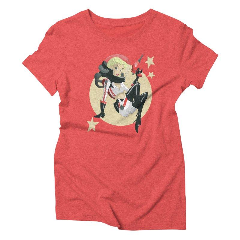 Nuka Girl Women's Triblend T-shirt by noaheisenman's Shop