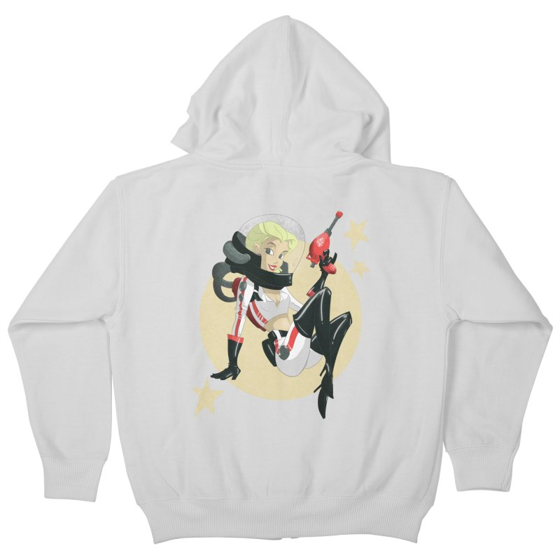 Nuka Girl Kids Zip-Up Hoody by noaheisenman's Shop
