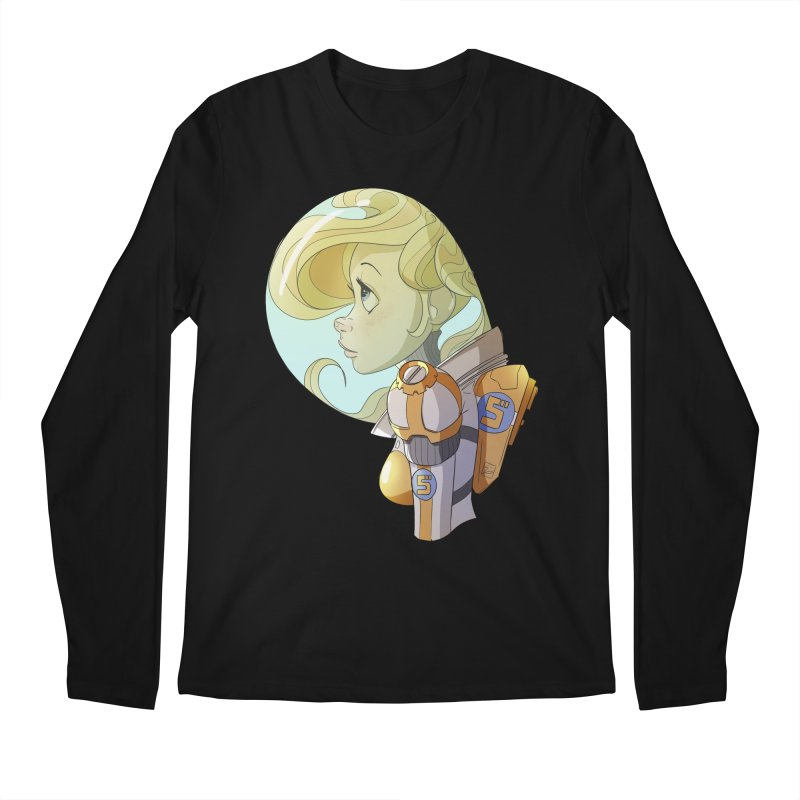 Spacegirl Men's Longsleeve T-Shirt by noaheisenman's Shop