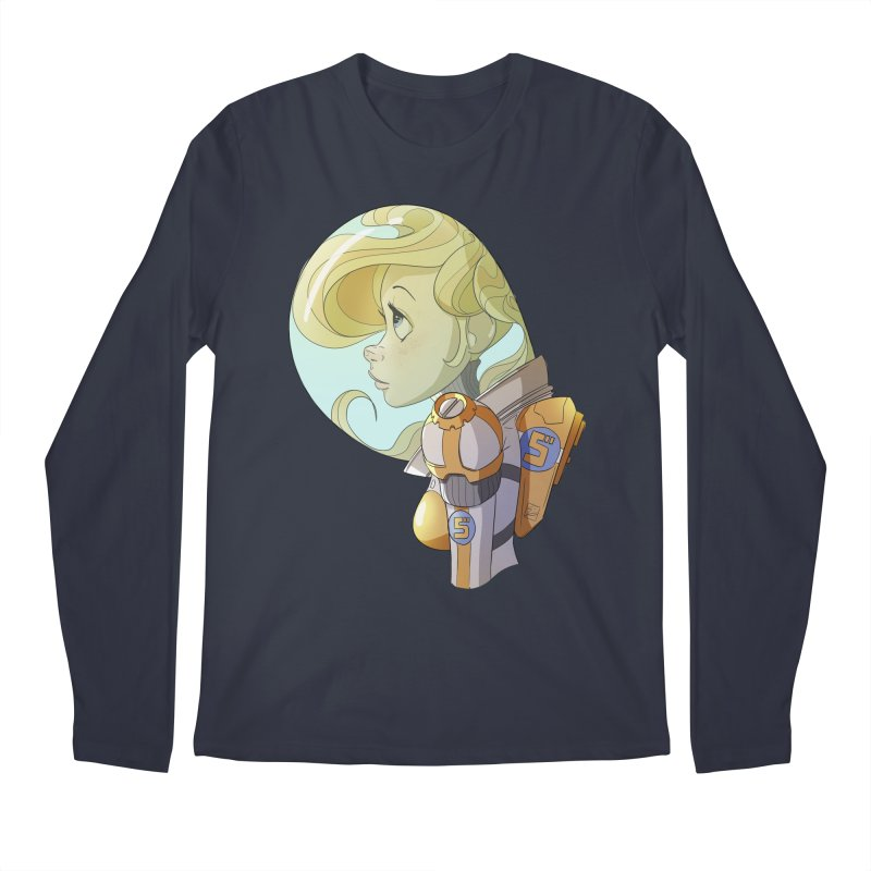 Spacegirl Men's Longsleeve T-Shirt by noaheisenman's Shop