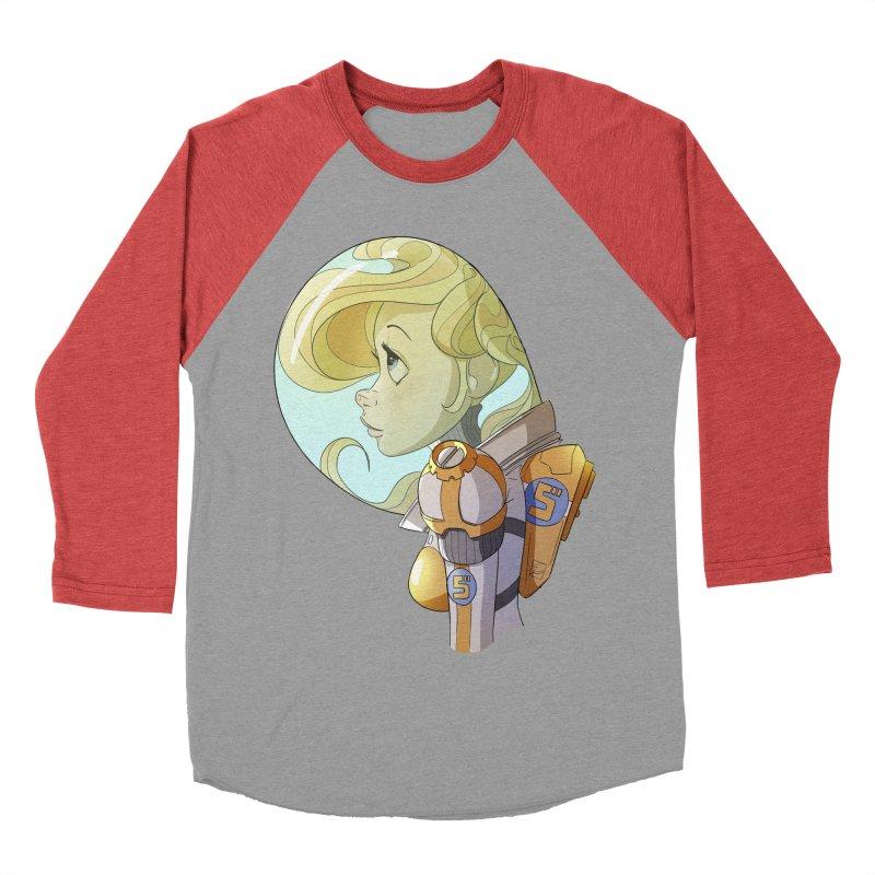 Spacegirl Women's Baseball Triblend T-Shirt by noaheisenman's Shop