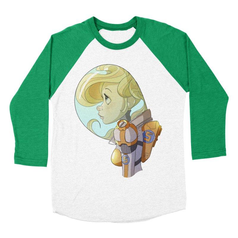 Spacegirl Men's Baseball Triblend T-Shirt by noaheisenman's Shop