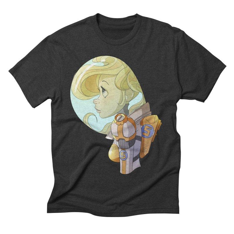 Spacegirl Men's Triblend T-shirt by noaheisenman's Shop