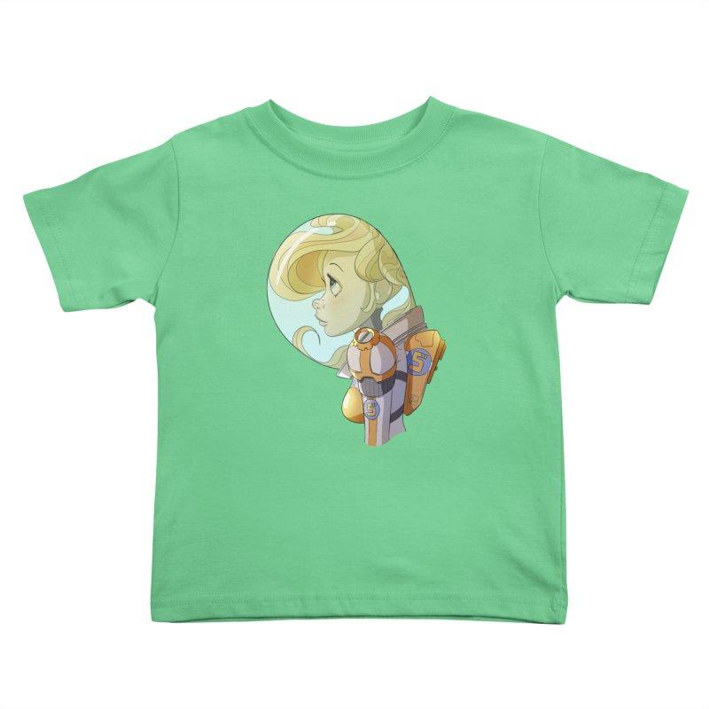 Spacegirl Kids Toddler T-Shirt by noaheisenman's Shop