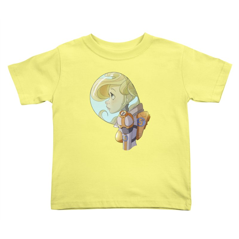 Spacegirl Kids Toddler T-Shirt by noaheisenman's Shop