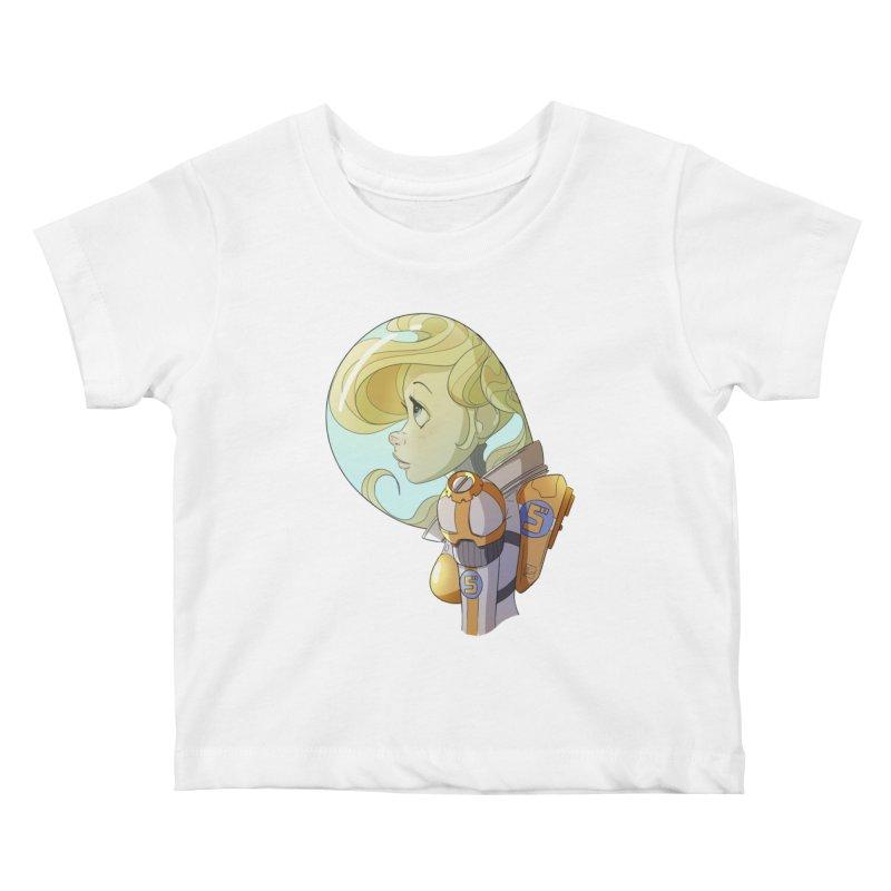 Spacegirl Kids Baby T-Shirt by noaheisenman's Shop