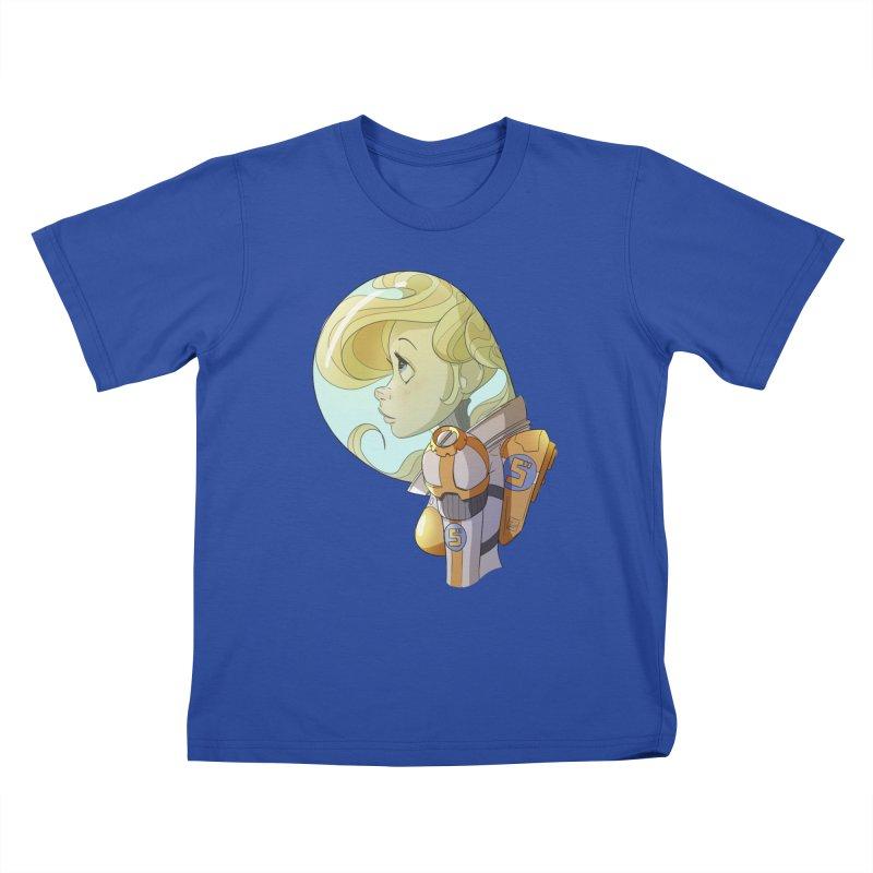 Spacegirl Kids T-shirt by noaheisenman's Shop
