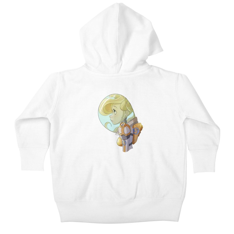 Spacegirl Kids Baby Zip-Up Hoody by noaheisenman's Shop