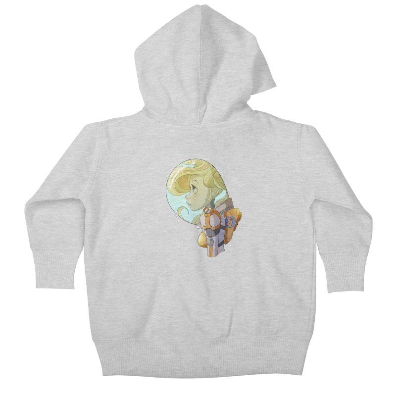Spacegirl Kids Baby Zip-Up Hoody by noaheisenman's Shop