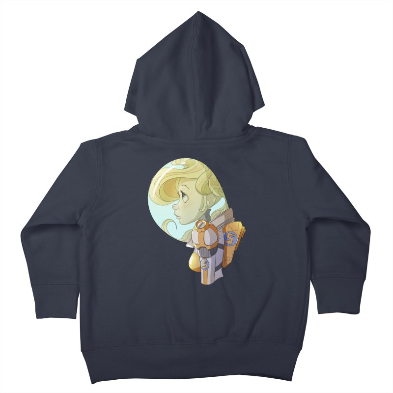 Spacegirl Kids Toddler Zip-Up Hoody by noaheisenman's Shop