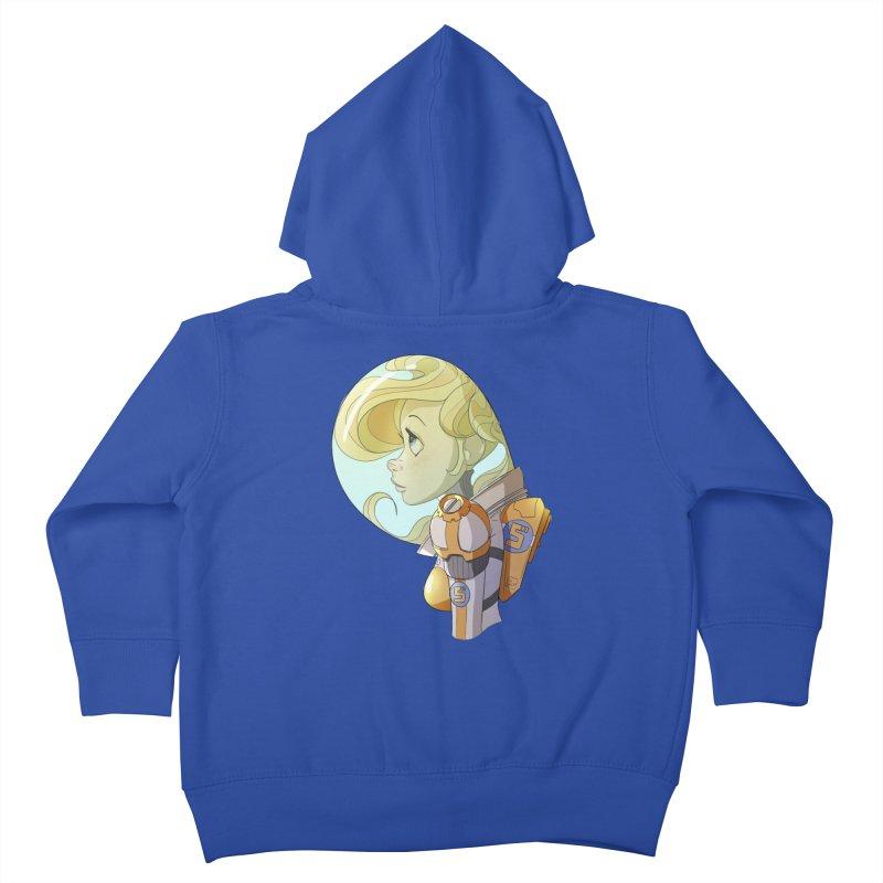 Spacegirl Kids Toddler Zip-Up Hoody by noaheisenman's Shop