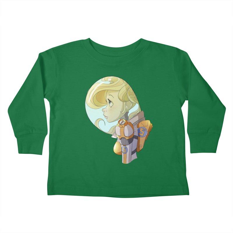 Spacegirl Kids Toddler Longsleeve T-Shirt by noaheisenman's Shop