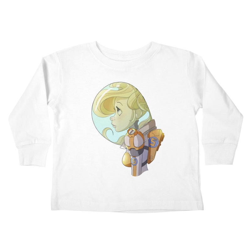 Spacegirl Kids Toddler Longsleeve T-Shirt by noaheisenman's Shop