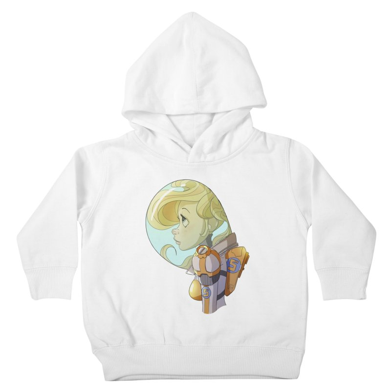 Spacegirl Kids Toddler Pullover Hoody by noaheisenman's Shop